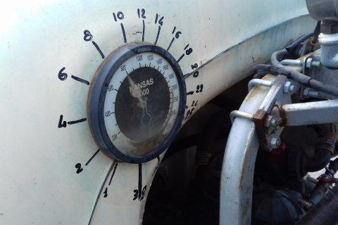 Contents gauge scale